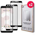 Saii Premium 3D Google Pixel 3 Tempered Glass - 9H, 0.33mm - 2 pcs.
