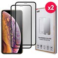 Saii Premium iPhone XS Max 9H Tempered Glass - 2 Pcs.
