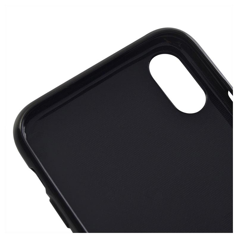 Saii Premium Anti-Slip iPhone XS TPU Case - Black