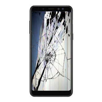 Samsung Galaxy A8 (2018) LCD and Touch Screen Repair - Black