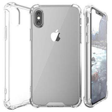 Scratch-Resistant iPhone X / iPhone XS Hybrid Case - Transparent