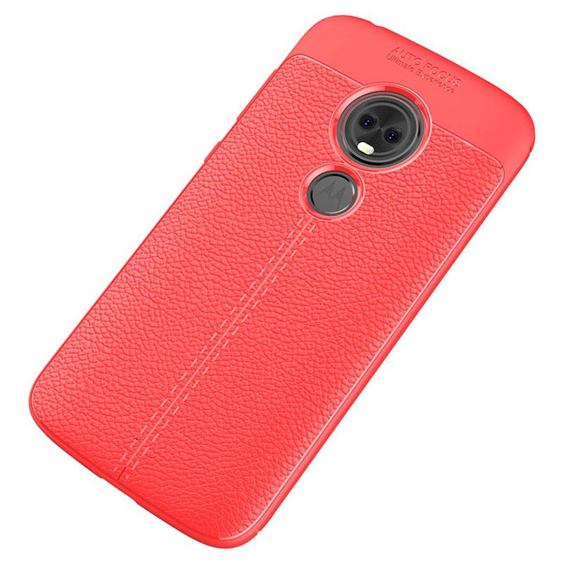 Slim-Fit Premium Motorola Moto E5 Play (US Version) TPU Case - Red