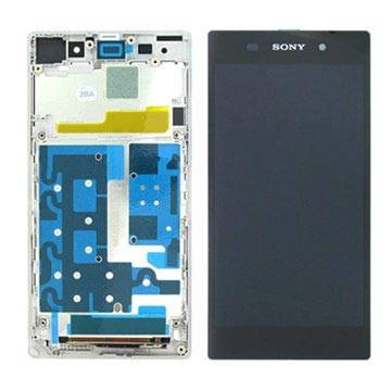 Sony Xperia Z1 Front Cover & LCD Display - White