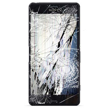 Sony Xperia Z3 LCD and Touch Screen Repair - Black