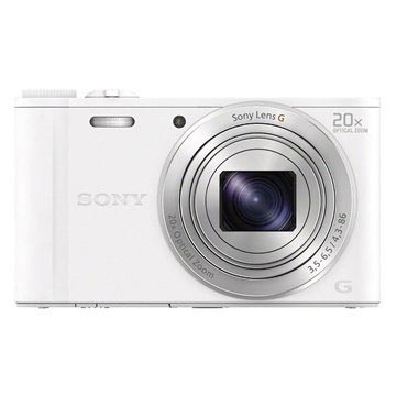 Sony Cyber-shot DSC-WX350 Digital Camera - White