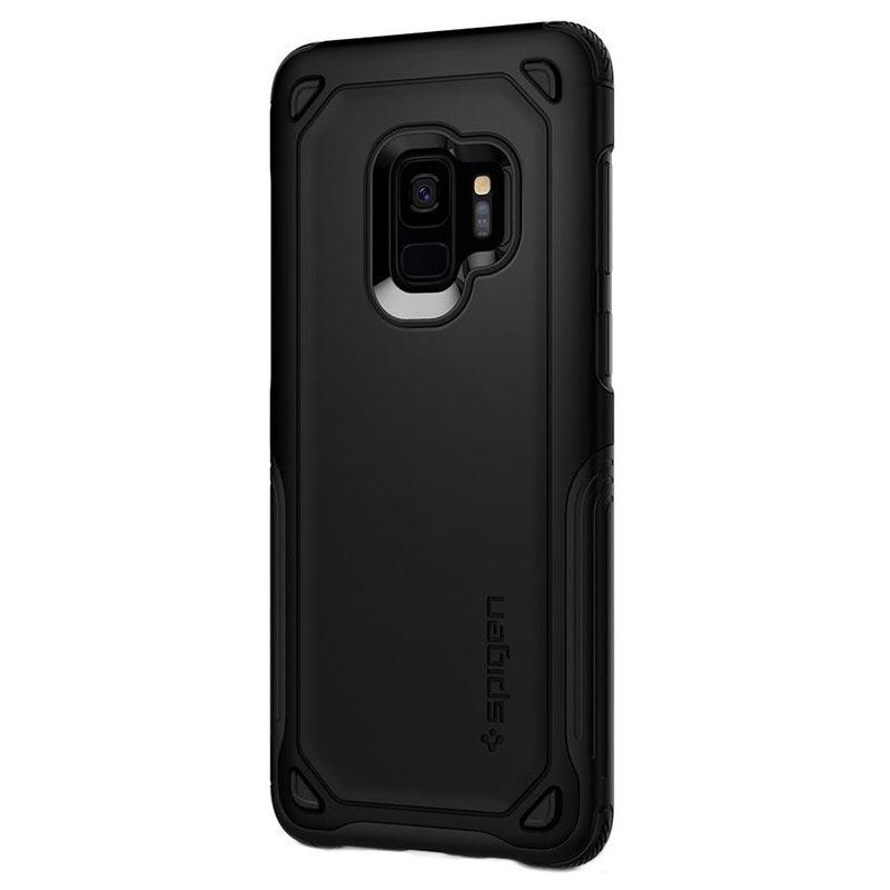 the best attitude 0a04e 42063 Samsung Galaxy S9 Spigen Hybrid Armor Case - Black