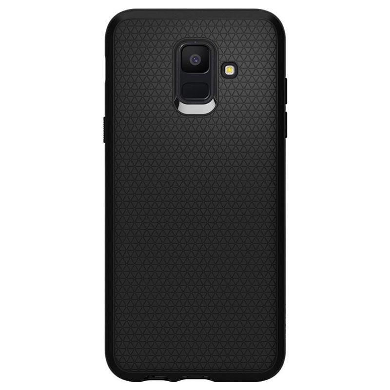 on sale 9dc61 cd7de Spigen Liquid Air Samsung Galaxy A6 (2018) Case - Matte Black