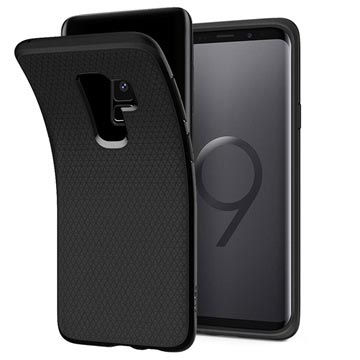 Samsung Galaxy S9+ Case Spigen Liquid Air - Matte Black