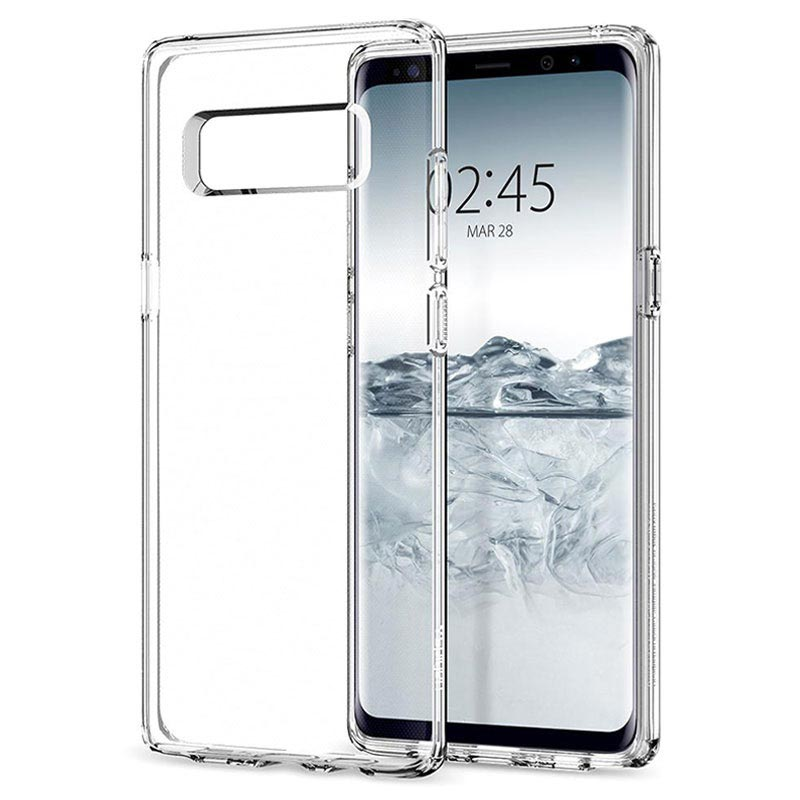 Samsung Galaxy Note 8 Spigen Liquid Crystal Case - Transparent