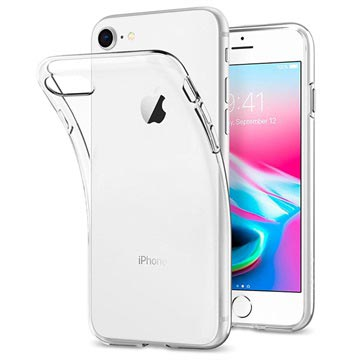 iPhone 7 / iPhone 8 Spigen Liquid Crystal Case - Clear
