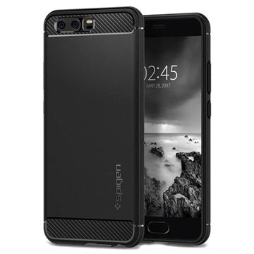 Huawei P10 Spigen Rugged Armor Case - Black
