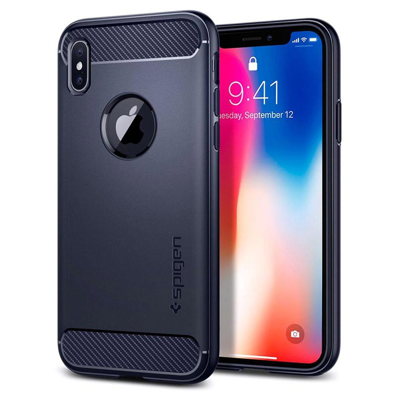 iPhone X / iPhone XS Spigen Rugged Armor Case