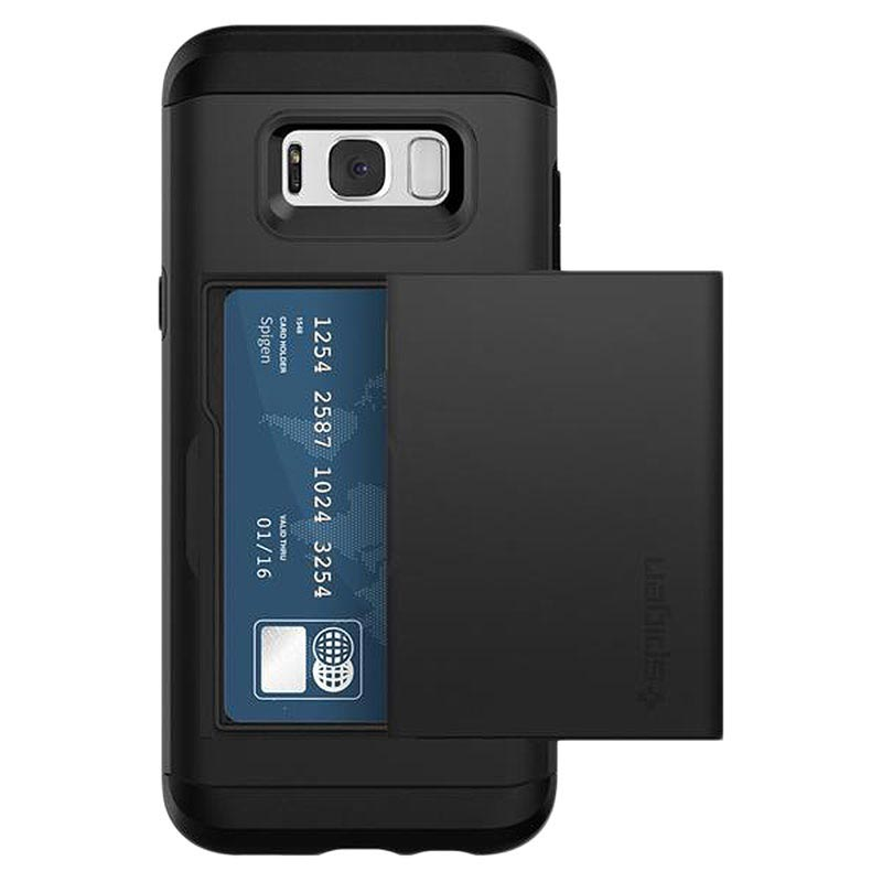 buy popular f846b 3e28b Samsung Galaxy S8 Spigen Slim Armor CS Case - Black