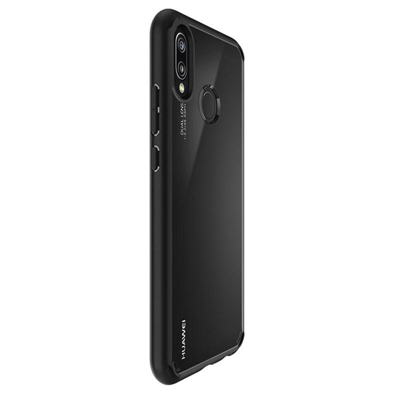 Spigen Ultra Hybrid Huawei P20 Lite Case - Black / Transparent