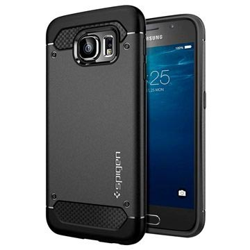 Samsung Galaxy S6 Spigen Ultra Rugged Capsule Case - Black