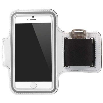 iPhone 6/6S Sport Gym Armband - White