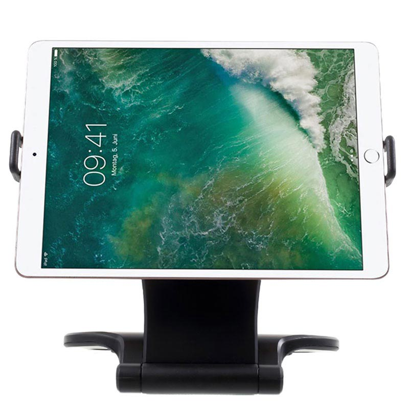 "Stand360 Universal Desktop Holder for Tablet - 7""-10"" - Black"
