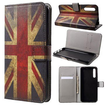 Style Series Huawei P20 Pro Wallet Case - Union Jack