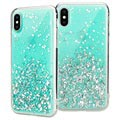 SwitchEasy Starfield iPhone XS Max Hybrid Case - Mint
