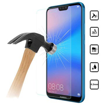 Huawei P20 Lite Tempered Glass Screen Protector - Crystal Clear