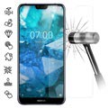 Nokia 7.1 Tempered Glass Screen Protector - 9H, 0.3mm - Clear