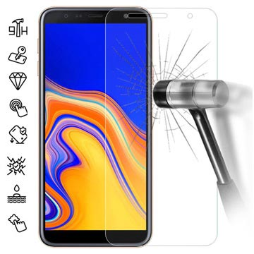 Samsung Galaxy J4+ Tempered Glass Screen Protector - 9H - Clear