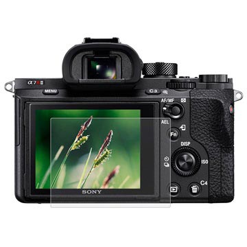Tempered Glass Screen Protector - Sony Alpha 7 II, 7R, 7R II, DSC-RX100