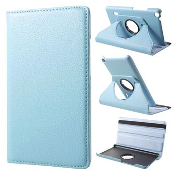 Huawei MediaPad T3 7.0 Textured Rotary Case - Baby Blue