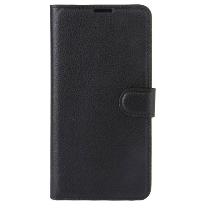 Huawei Y6 (2017) / Y5 (2017) Textured Wallet Case - Black