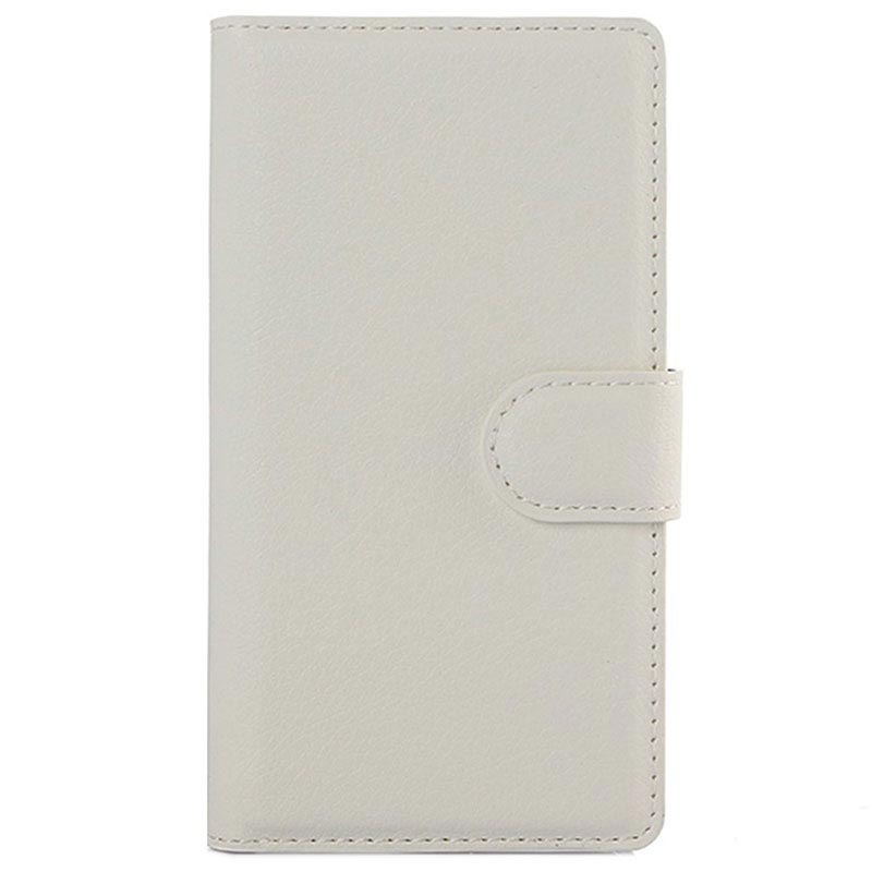 Sony Xperia Z5 Compact Textured Wallet Case - White