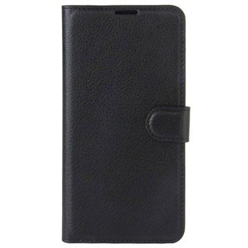 Sony Xperia L1 Textured Wallet Case - Black