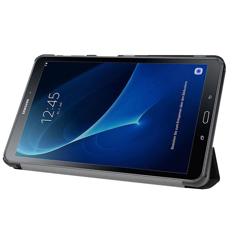 Samsung Galaxy Tab A 10.1 (2016) T580, T585 Tri-Fold Smart Case - Black