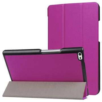 Lenovo Tab 4 8 Tri-Fold Folio Case - Purple
