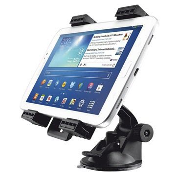 "Trust Urban Universal Tablet Car Holder - 7"" - 11"" - Black"