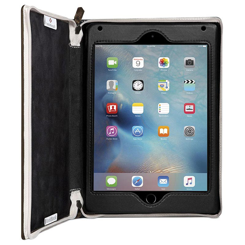 iPad Mini 4 Twelve South BookBook Leather Case - Brown
