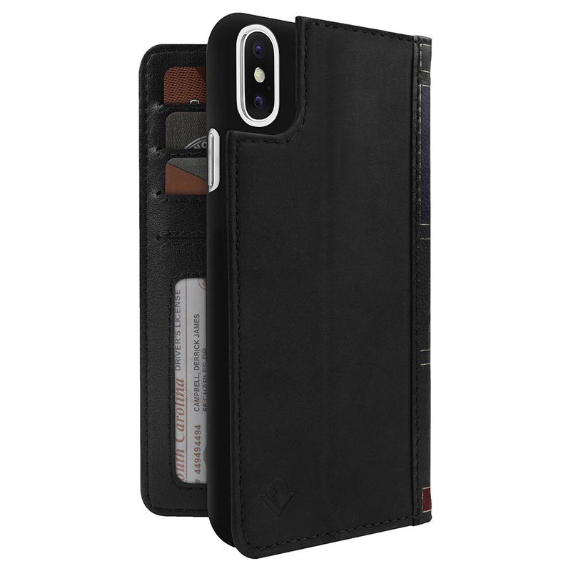 iPhone X / iPhone XS Twelve South BookBook Wallet Leather Case