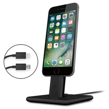 Twelve South HiRise 2 Deluxe Charging Stand for iPhone/iPad - Black