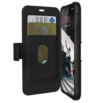 iPhone X / iPhone XS UAG Metropolis Rugged Wallet Case - Black
