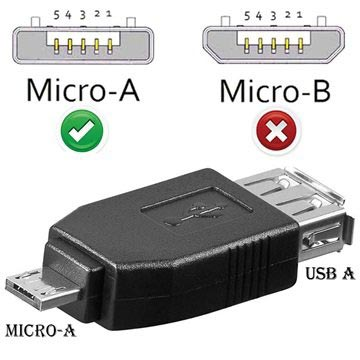 USB / microUSB Adapter