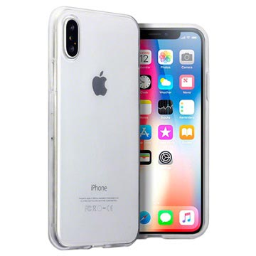 iPhone X / iPhone XS Ultra-Thin Silicone Case - Transparent