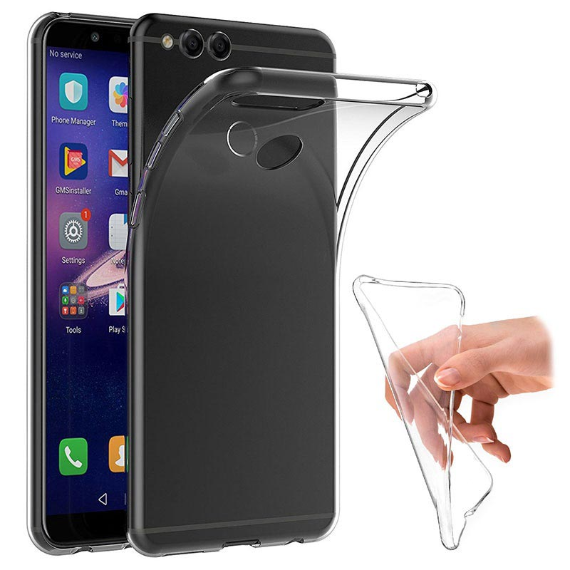 Huawei Honor 7X Crystal TPU Cover - Transparent