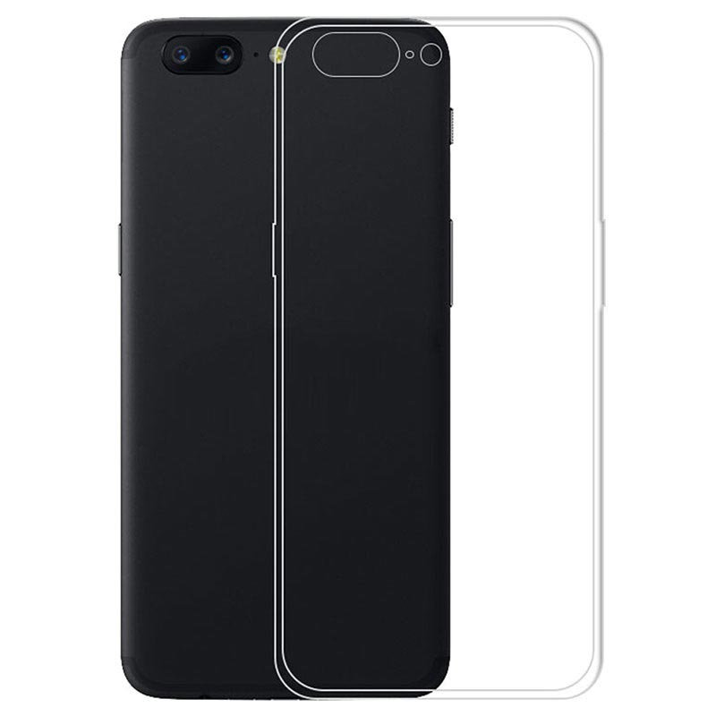 OnePlus 5 Ultra-Thin TPU Case - Transparent