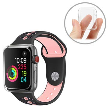newest 88952 ffecf Apple Watch Series 4 Ultrathin TPU Case - 44mm - Transparent