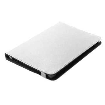 "OTB Universal Tablet Bookstyle Leather Case - 10.1"" - White"