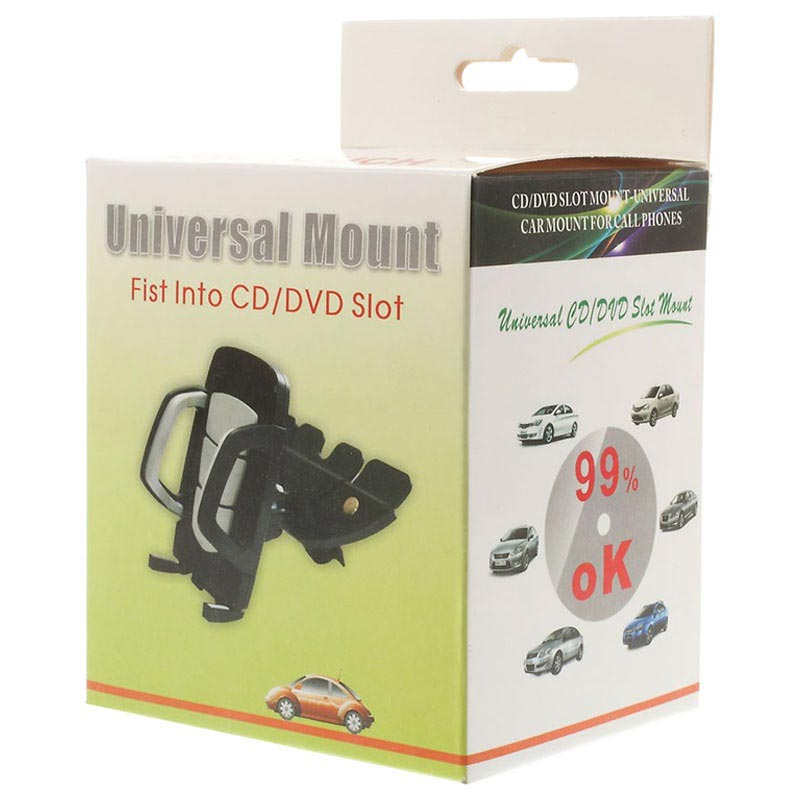 Universal CD/DVD Slot Car Holder S051