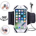 "Universal 360 Rotary Sports Armband for Smartphones - 4""-5.8"" - Black"