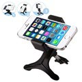 Universal Smartphone Air Vent Car Holder - Black