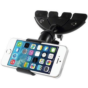 Universal Smartphone CD/DVD Slot Car Holder HX-M-X10