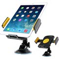 "Universal Tablet Car Holder 7""-11"" - Yellow"