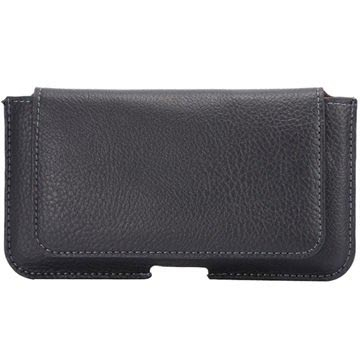 Universal Textured Horizontal Holster Case & Card Holder